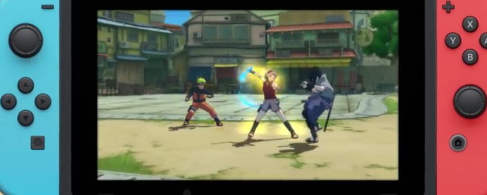 Naruto demnächst für Nintendo Switch!