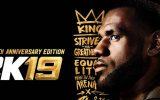 NBA 2K19: LeBron James ziert das Anniversary-Cover