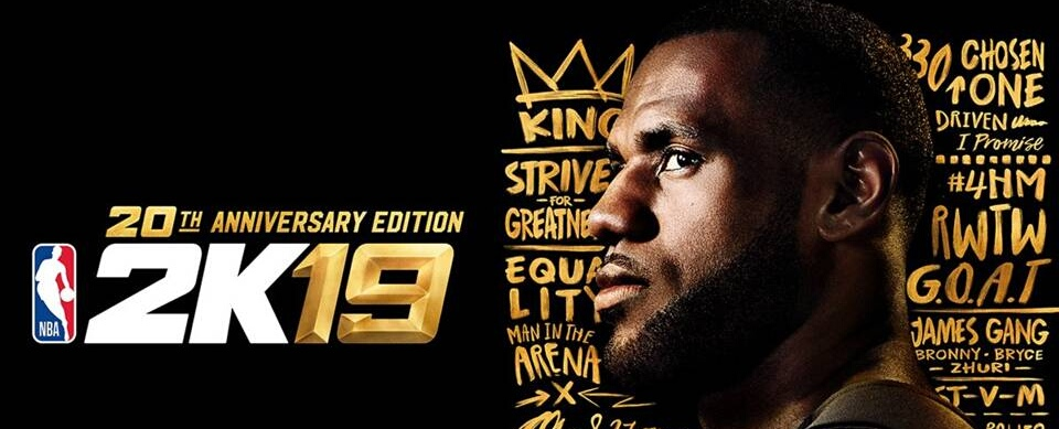 NBA 2K19: LeBron James ziert das Anniversary-Cover