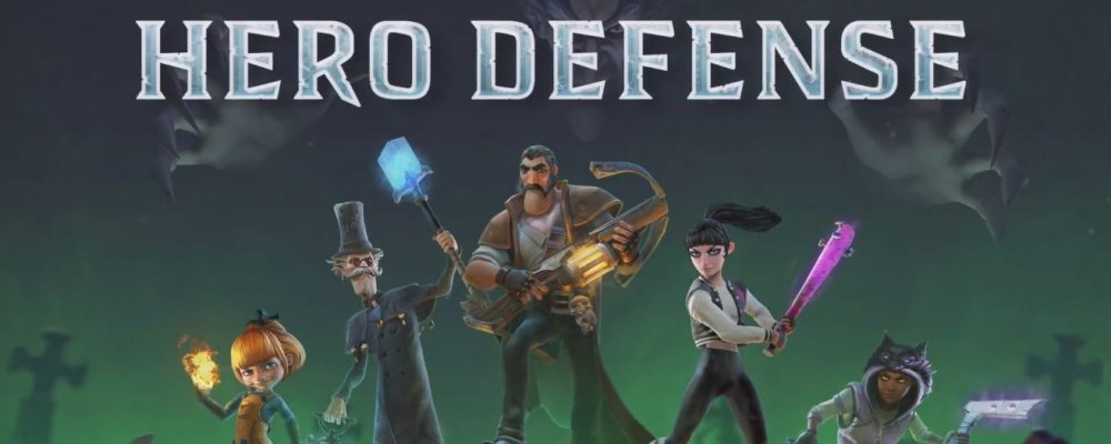 Hero Defense: Kämpfe, Helden und Heimatbasen im Video
