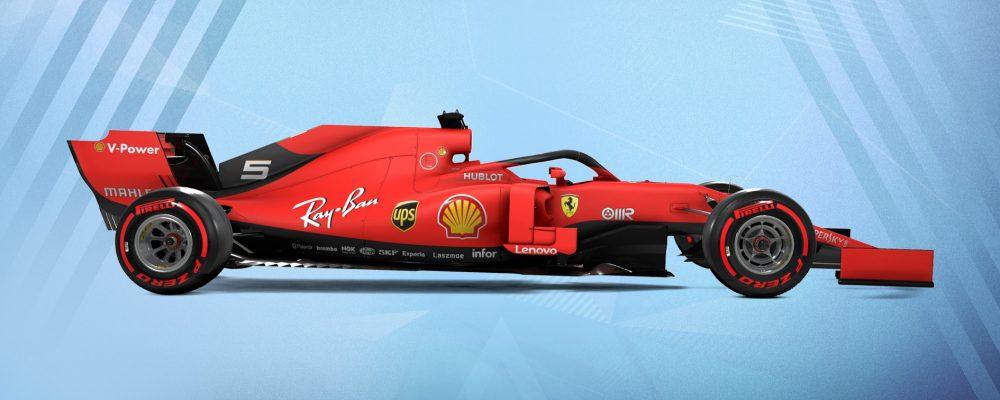 F1 2019 – Frisches Bildmaterial im Vergleich