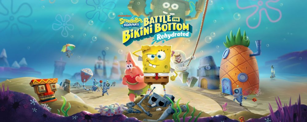 #gamescom2019: SpongeBob – Battle For Bikini Bottom – Rehydrated