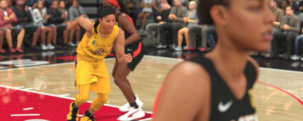 NBA 2K21 mit vollständiger WNBA Karriere auf NextGen