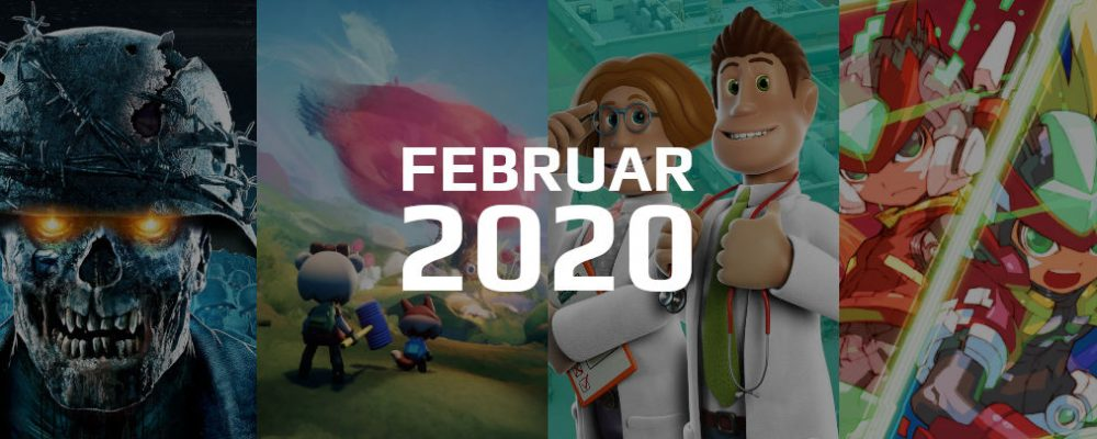Gaming Highlights im Februar 2020