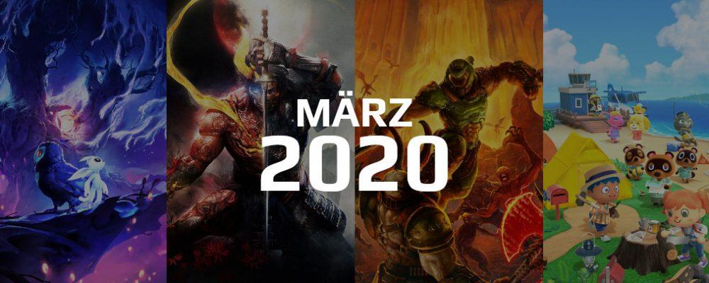 Gaming Highlights im März 2020