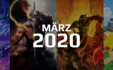 Gaming Highlights im März 2020