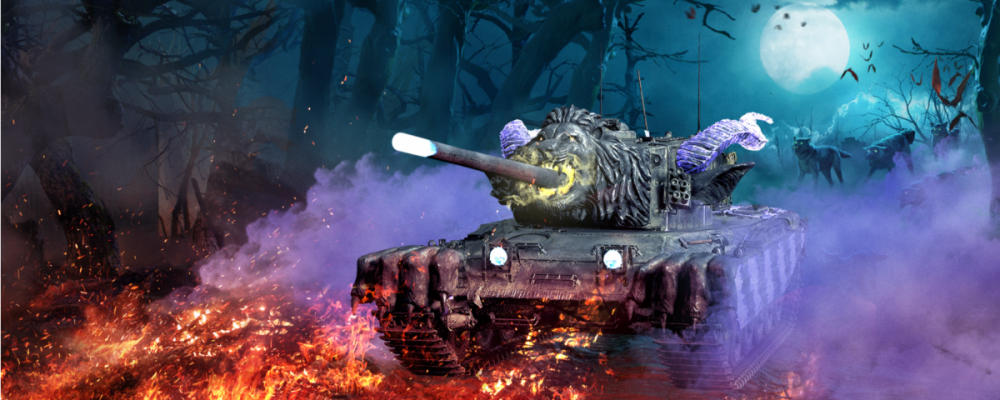 World of Tanks mit Halloween Event auf Konsolen