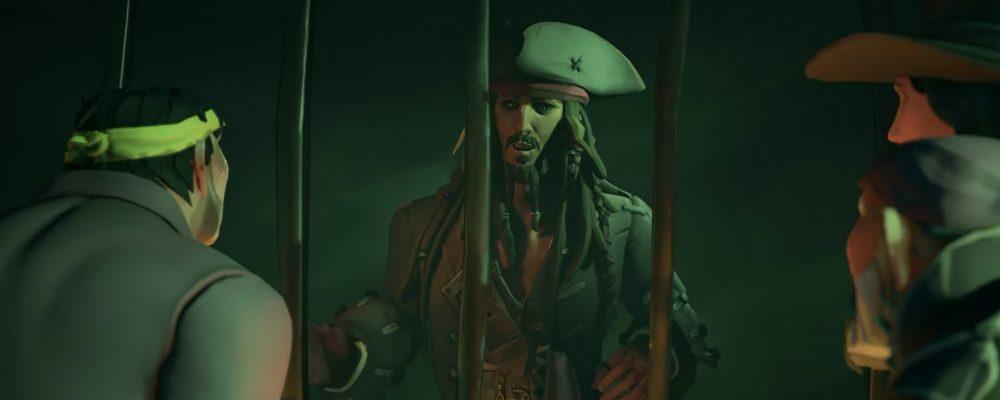 Sea of Thieves meets Jack Sparrow